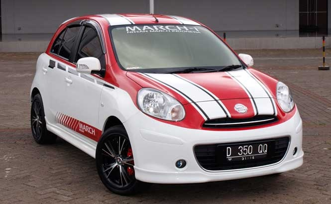 If you like Nissan March, like this! <3