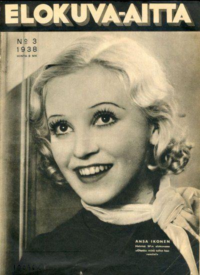 Ansa Ikonen, Finnish film star