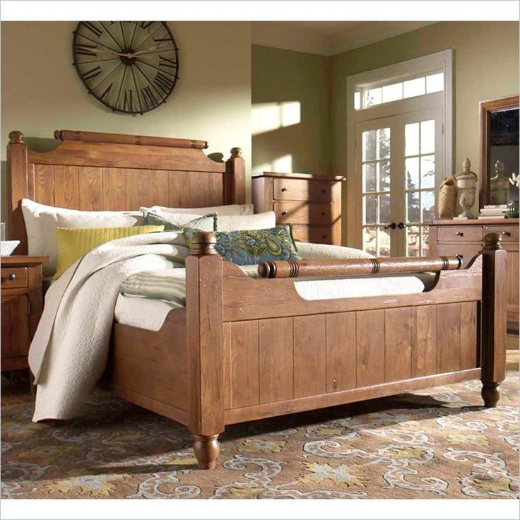 Awesome Broyhill Attic Heirlooms Weathered U0026 Distressed Feather Bed Pictures Gallery