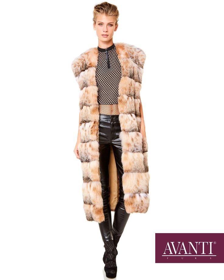 AVANTI FURS - MODEL: BOGNA CAT LYNX VEST   #avantifurs #fur #fashion #catlynx #luxury #musthave #мех #шуба #стиль #норка #зима #красота #мода #topfurexperts