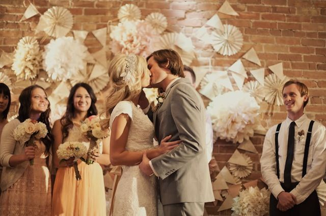 Romantic Vintage Wedding Filled With Roses & Lace Part 2 | Bridal Musings | A Chic and Unique Wedding Blog