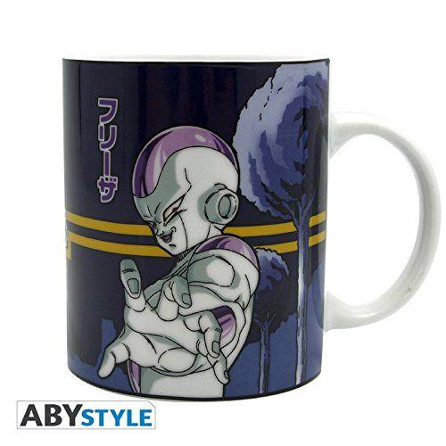 DRAGON BALL Mug Freezer VS Goku @ niftywarehouse.com #NiftyWarehouse #Geek #Gifts #Collectibles #Entertainment #Merch