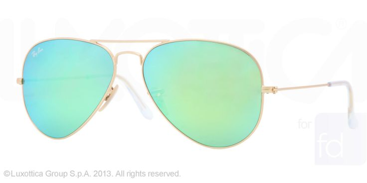 Ray-Ban RB3025 Large Metal Aviator Sunglasses | Get Free Shipping