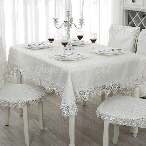 Jacquard Lace Tablecloth