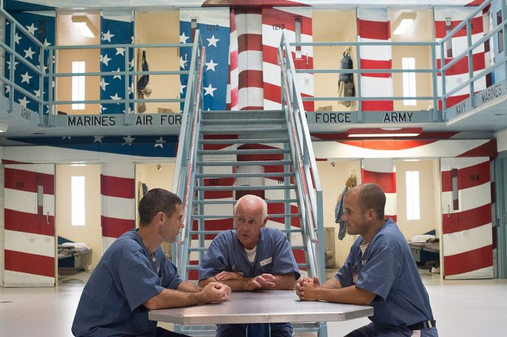 The Veteran Dorm re-entry program at Santa Rosa Correctional Institution in Milton, helps inmates with military service transition back into the community.
