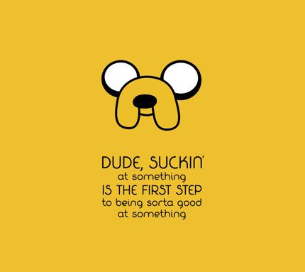 Adventure Time Quote