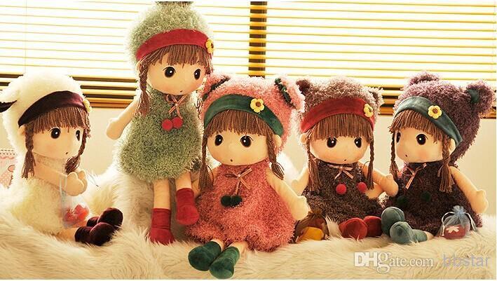 Soft Plush Toy Doll Birthday Gift 40cm Princess Doll Mayfair Cute Girl Variety Cute Doll Toy