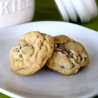 "Chewy Chocolate Chip Cookies, I'm always in search of the perfect ""chewy"" chocolate cookie."
