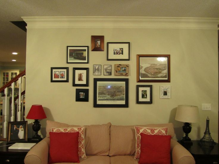 Wall Frame Collage 31 best collage walls images on pinterest | home, home decor and ideas