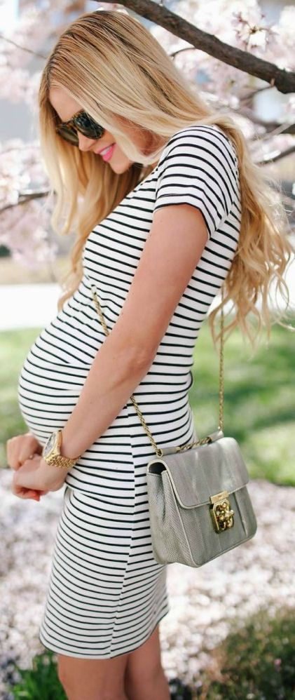 Stripes are forever a classic and timeless look!