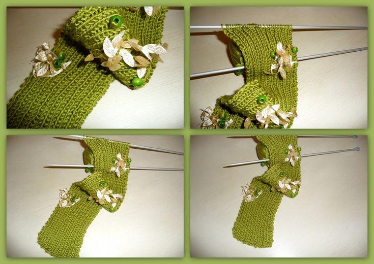 écharpe en laine Plassard Automne