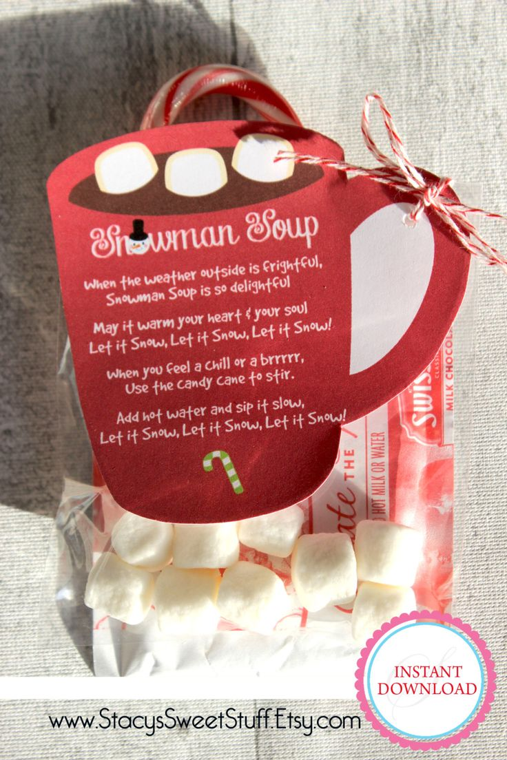 Snowman Soup Mug Printable by StacysSweetStuff on Etsy