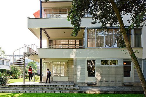 Huis sonneveld rotterdam aa nederland toen en nu for Archi interieur rotterdam