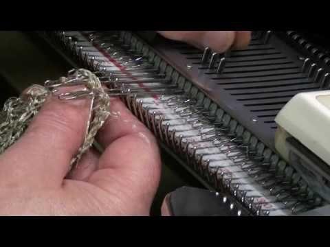 Сетка на 2 фонтурах Punto e bordo Tuck - YouTube