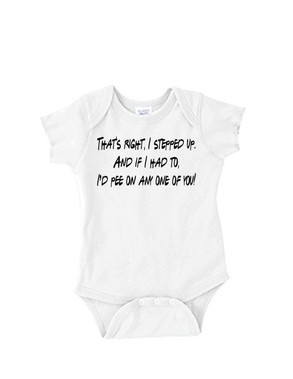 Baby Onesie  FRIENDS TV Show Quote by LJDesignsMN on Etsy