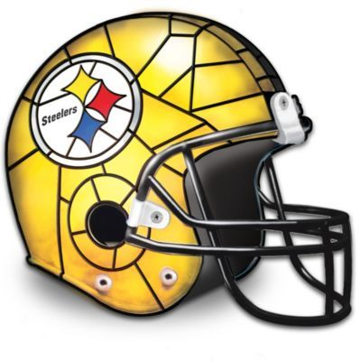 Pittsburgh Steelers Football Helmet Accent Lamp