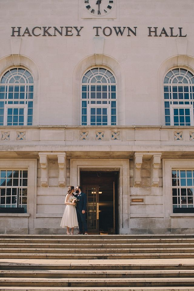 A Little Hackney Wedding With A Bride In Her Grandmother's Dress