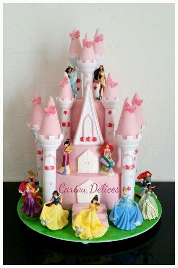 Wedding Cake Chateau Princesse