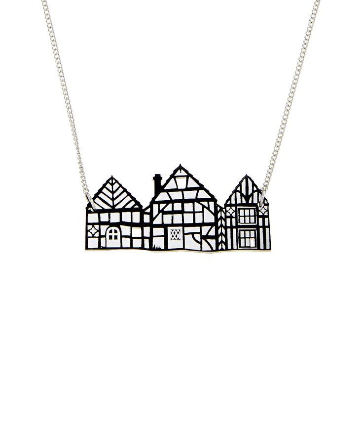 Tudor House Necklace, £40: http://www.tattydevine.com/tudor-house-necklace