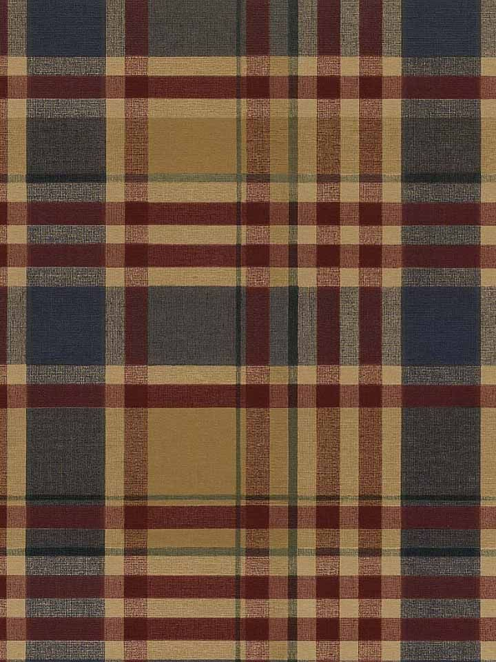 Acanthus plaid wallpaper is deep and thoughtful americanblinds com madforplaid