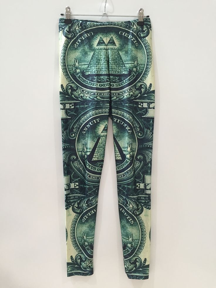 Large The Dollar Leggings.