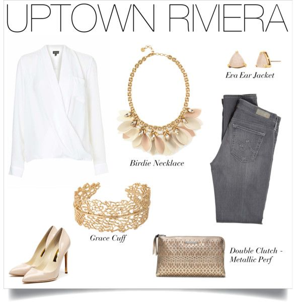 This Uptown Riviera look is perfect for any occasion – we love it for a wine night or a lunch date.
