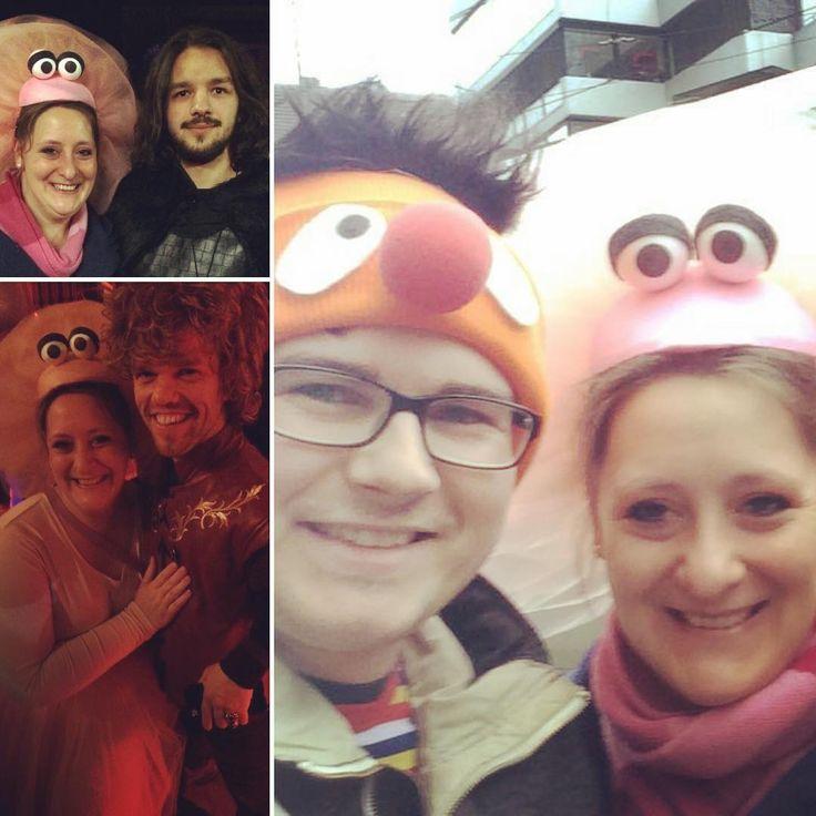 Heute war ich mit Ernie unterwegs und hab meine zwei liebsten von Gane of Thrones getroffen!   #karneval #köln #fastelovend #schmelztiegel #ernie #tiffy #gameofthrones #got #jhonsnow #tyrionlannister #loveit #socool #sogut #freumichso #glücklich #alaaf #kostüm #sesamstrasse #rosenmontag