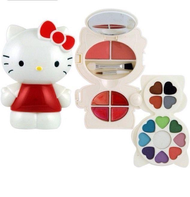 Hello Kitty Trousse Trucco Donna Ragazza Originale • EUR 9,99 - PicClick IT