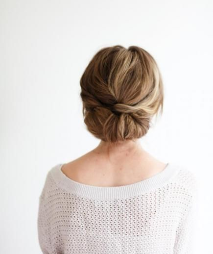 Low Bun   Stunning wedding-day styles for long hair, short hair, and everything in between.