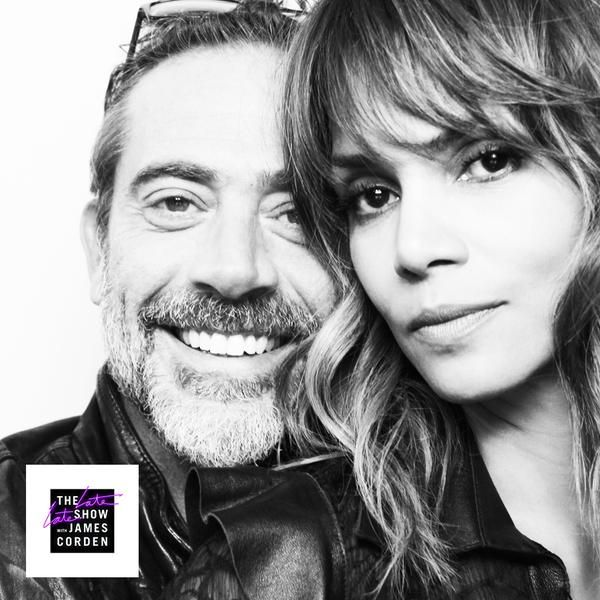 queenhalle:  Halle Berry and Jeffrey Dean Morgan onThe Late Late Show with James Corden. (5-20-15)