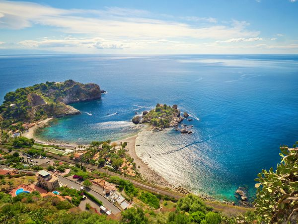 Sicily: rich in history, culture, and beautiful views. #europe #mediterranean #cruiseBeautiful Italy,  Headlands, Royal Caribbean, Favorite Places, Beautiful Island, Vacations Spots, Europe Travel, Taormina Sicily,  Foreland