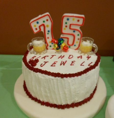 Happy 75 th Birthday Cake