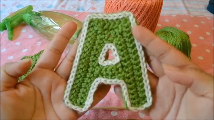 I have created a pattern for a blocked letter A that I call the Letterman A. Pattern in the video.