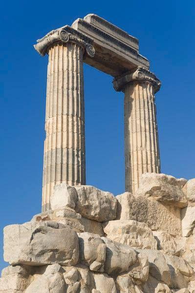 Ionian columns (Apollo temple, Didyma)