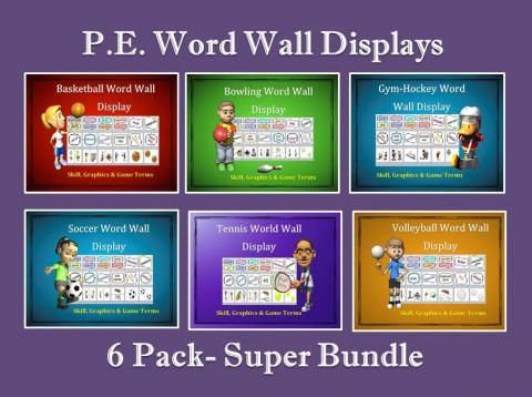 Best 25 word wall displays ideas on pinterest classroom pe word wall displays 6 pack super bundle edworld exchange where educators buy publicscrutiny Image collections