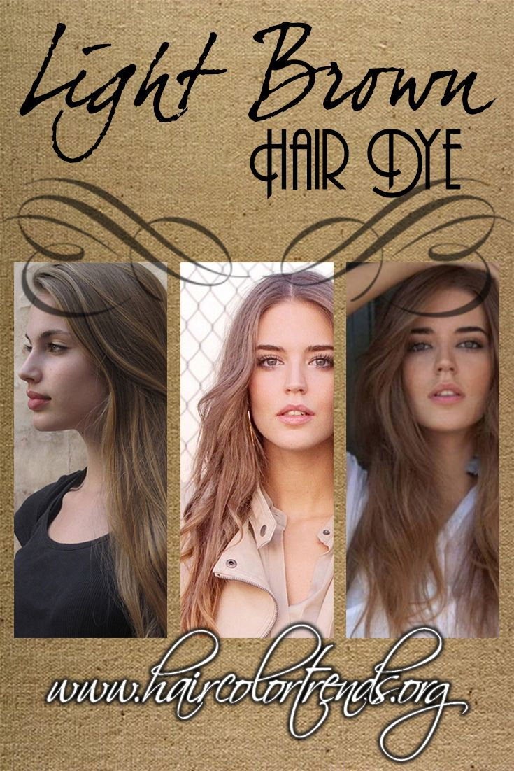 Know more about the two shades available for those who want the light #brown #hair look. #haircolor #haircolortrends