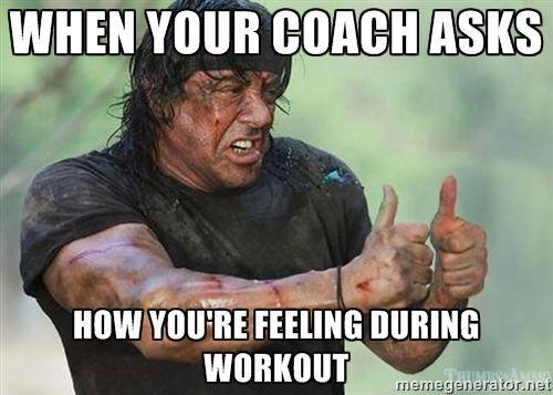 not soo bad.. gym humor