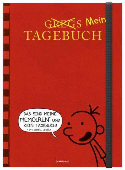 Gregs (Mein) Tagebuch | Jeff Kinney | Hardcover | Mal ehrlich, mehr als einen Stift und ein Notizbuch hat es bei Greg doch auch nicht gebraucht. Hier ist jetzt also der perfekte Begleiter für alle, die mindestens genauso reich und berühmt werden wollen wie er! Mit diesem Tagebuch geht garantiert keine Idee verloren. Denn hier ist viel Platz für eigene Gedanken, Erinnerungen und Geheimnisse, für tolle Geistesblitze, lustige Comics und andere verrückte Kritzeleien.