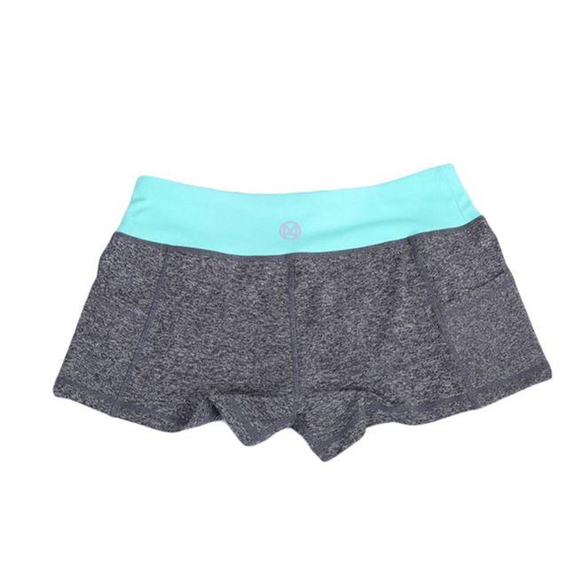 Женщина фитнес-спортивная подготовка шорты сухой женский стрейч работает сексуальное миниое тонкий центр штаны одежду тренировки