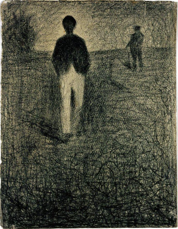 Drawing Seeing: The Drawings of George Seurat