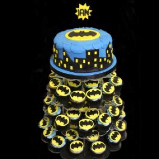 Cute batman cake