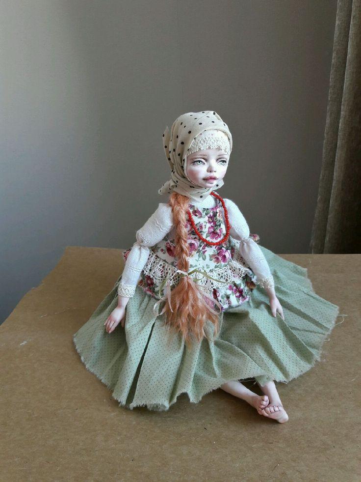 Купить Любава-игровая кукла - русский стиль, русский сувенир, сарафан, игровая игрушка