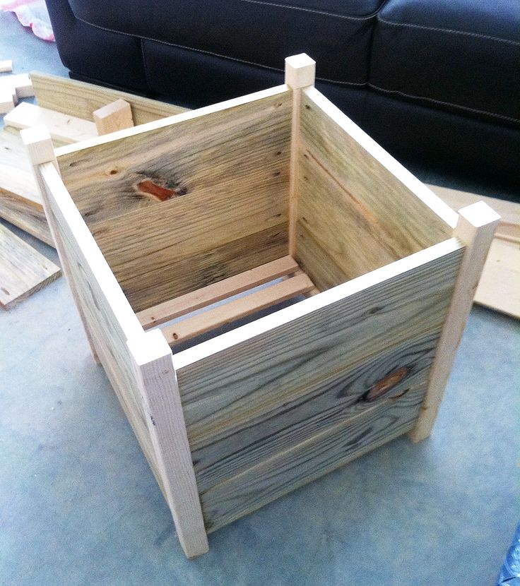 Awesome Box Planter Build. Hmmm.....Iu0027m Thinking Pallet Project