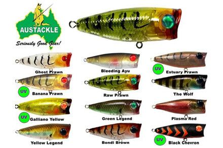 Austackle Minnie Popz SF48 | Lures by Austackle | Import Tackle - Import Tackle | Online Fishing Tackle Store