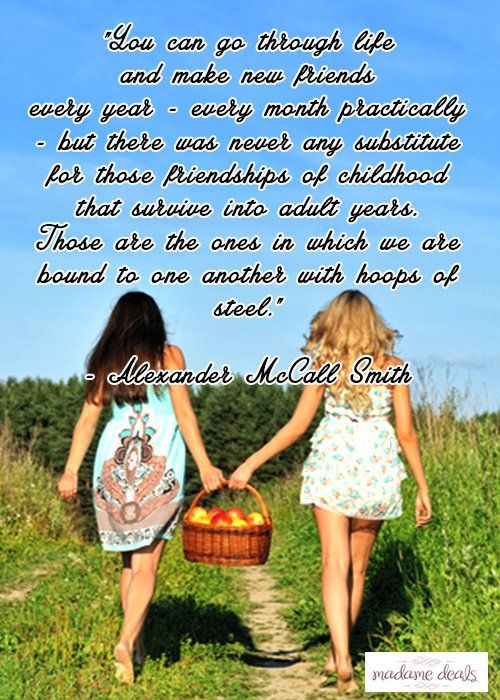 Karla shares an inspiring story of friendship. Check out Karla's Korner: Childhood Friends….An Unbreakable Bond