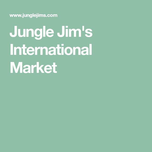 Jungle Jim's International Market