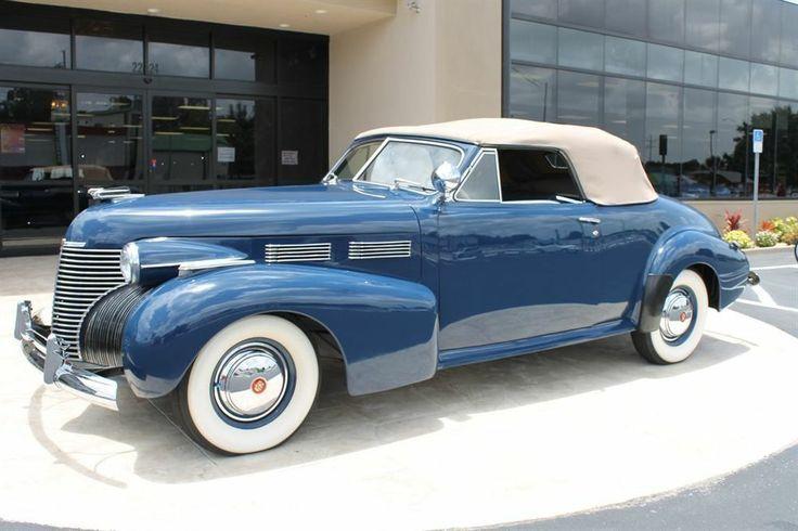 1940 Cadillac Series 62 Convertible