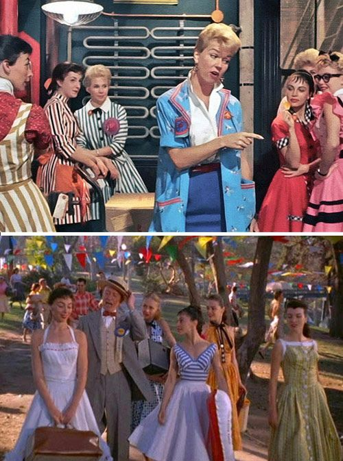living in: the pajama game | Design*Sponge - only my favorite musical ever