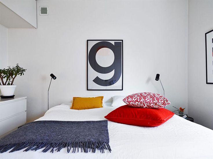 Camera da letto in stile scandinavo 18