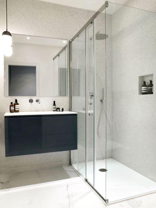 Fabuleux Les 25 meilleures idées de la catégorie Salle de bain 4m2 sur  BC93